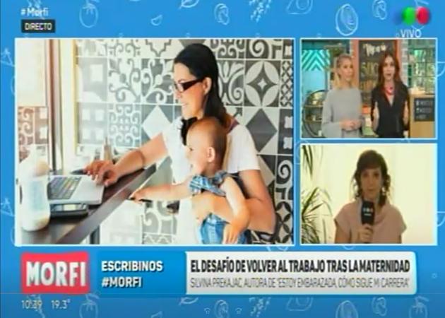 Silvina Prekajac en Morfi | Telefe
